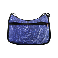 Rattled Water Crossbody Bags (Model 1616)