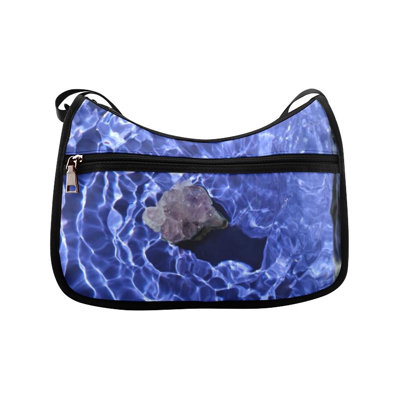 Amethyst Ripples Crossbody Bags (Model 1616)