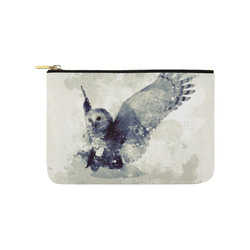 Wonderful owl, watercolor Carry-All Pouch 9.5''x6''