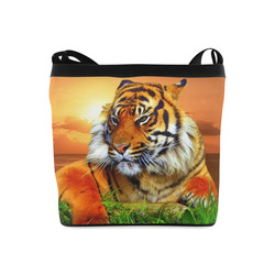 Sumatran Tiger Crossbody Bags (Model 1613)