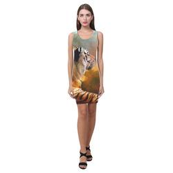 Tiger and Nebula Medea Vest Dress (Model D06)