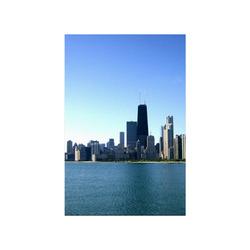 "Chicago Skyline Poster 16""x24"""