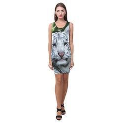 White Tiger Medea Vest Dress (Model D06)