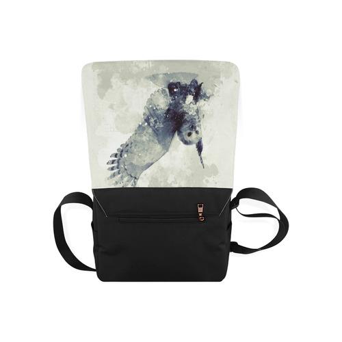 Wonderful owl, watercolor Messenger Bag (Model 1628)