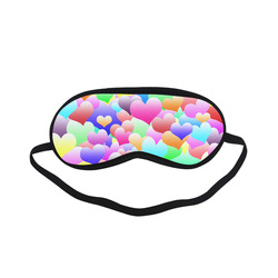 Bubble Hearts Dark Sleeping Mask
