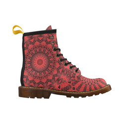 TEST PATTERNZ High Grade PU Leather Martin Boots For Women Model 402H