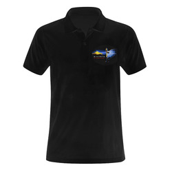 Assyrian Lamassu Polo Shirt Men's Polo Shirt (Model T24)