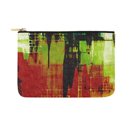 Grunge texture Carry-All Pouch 12.5''x8.5''