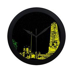 KingsPark Circular Plastic Wall clock