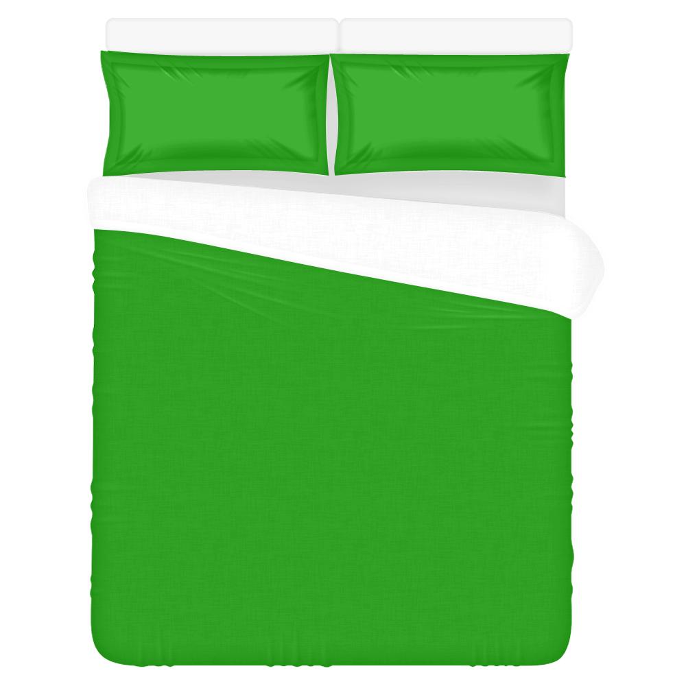 green 3-Piece Bedding Set