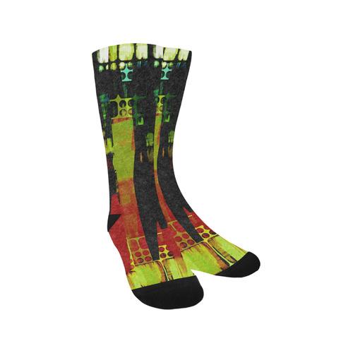 Grunge texture Trouser Socks