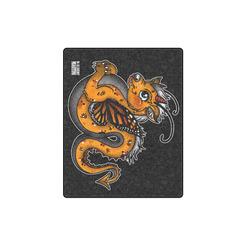 "Dragon Fly Baby Blanket Blanket 40""x50"""