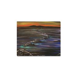 "Night Walk Canvas Print 14""x11"""