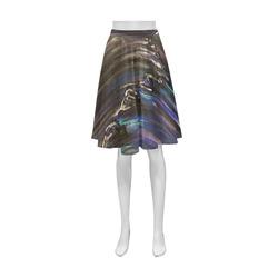 Night Walk Athena Women's Short Skirt (Model D15)
