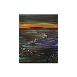 "Night Walk Canvas Print 16""x20"""