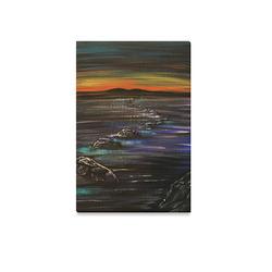 "Night Walk Canvas Print 12""x18"""