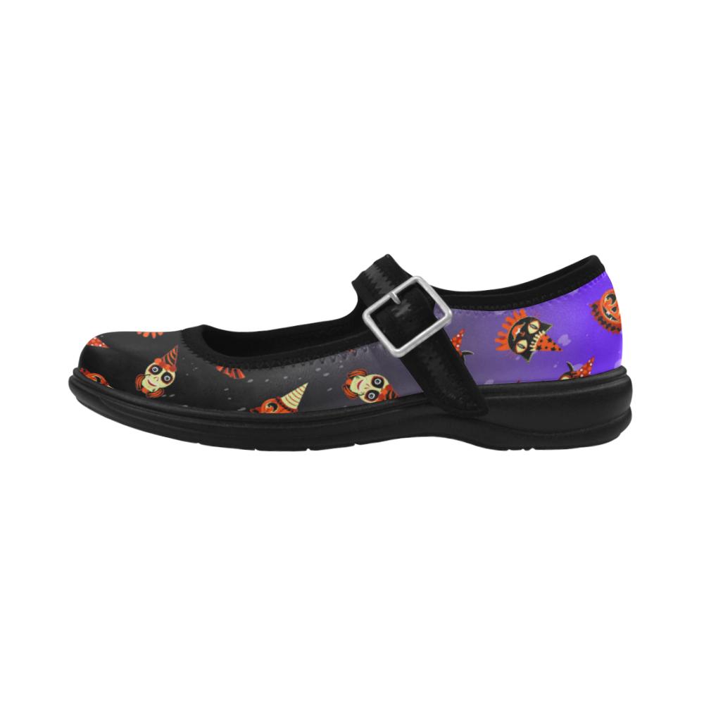 HalloweenPartyAnimalsMaryJanes Virgo Instep Deep Mouth Shoes