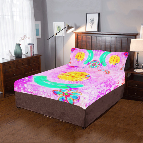clown 2 3-Piece Bedding Set