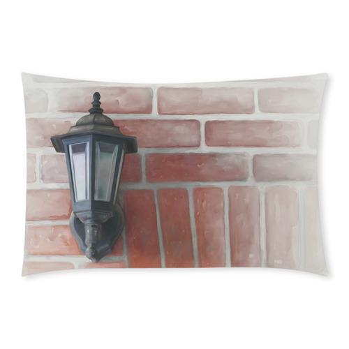 Lamp, Red Brick 3-Piece Bedding Set