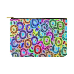 Colorful ovals Carry-All Pouch 12.5''x8.5''