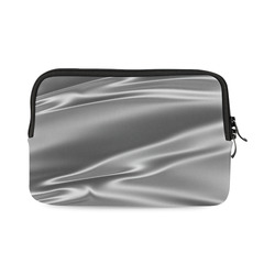 Metallic grey satin 3D texture iPad mini