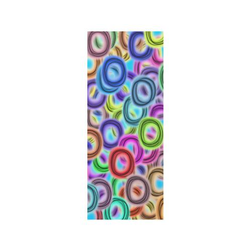 Colorful ovals Quarter Socks