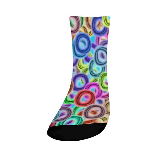 Colorful ovals Crew Socks