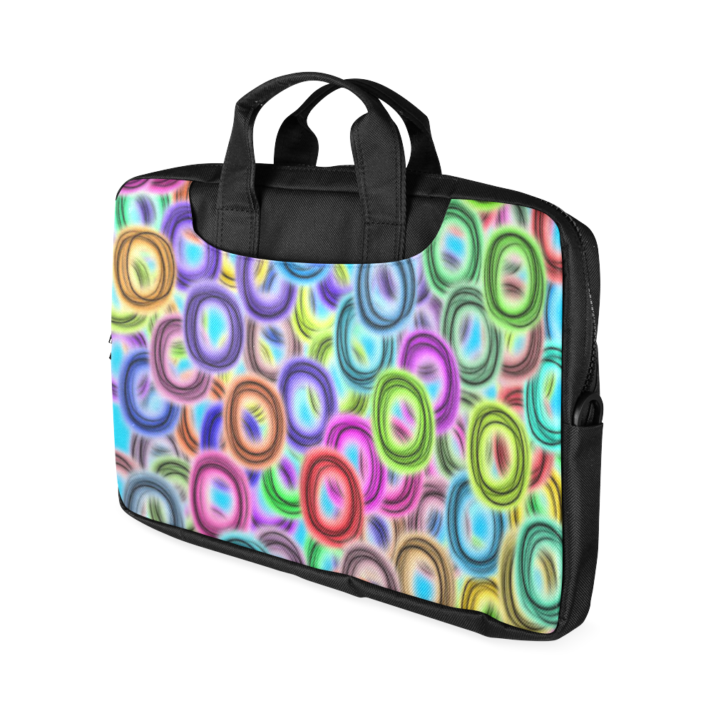 "Colorful ovals Macbook Air 15""(Two sides)"