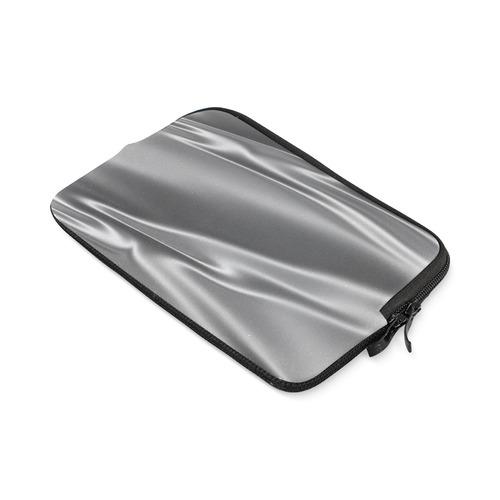 Metallic grey satin 3D texture iPad mini
