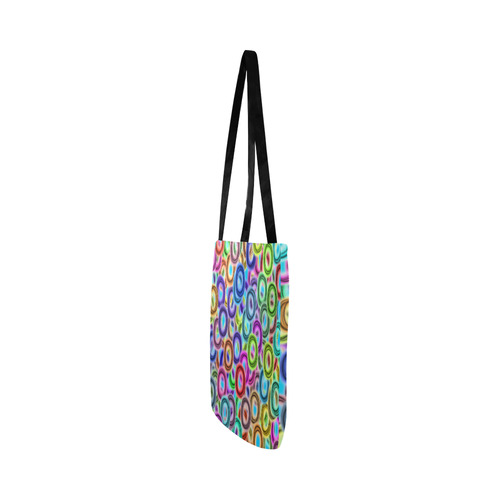 Colorful ovals Reusable Shopping Bag Model 1660 (Two sides)