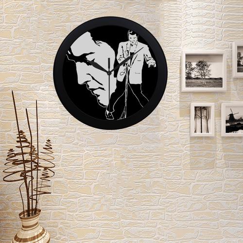 LEGEND Circular Plastic Wall clock