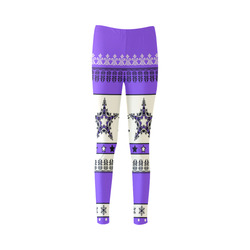 Christmas Ornaments Pattern III Cassandra Women's Leggings (Model L01)