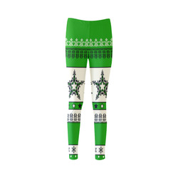 Christmas Ornaments Pattern II Cassandra Women's Leggings (Model L01)