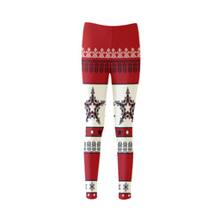 Christmas Ornaments Pattern I Cassandra Women's Leggings (Model L01)