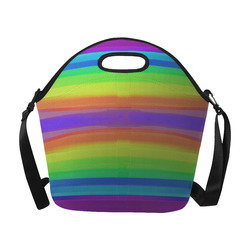 couleurs 2 Neoprene Lunch Bag/Large (Model 1669)