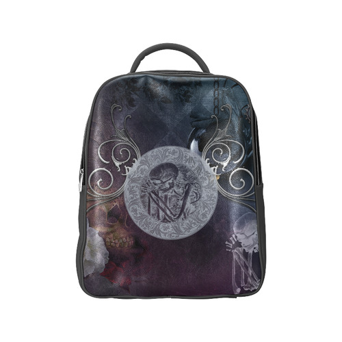 Amazing skeleton Popular Backpack (Model 1622)