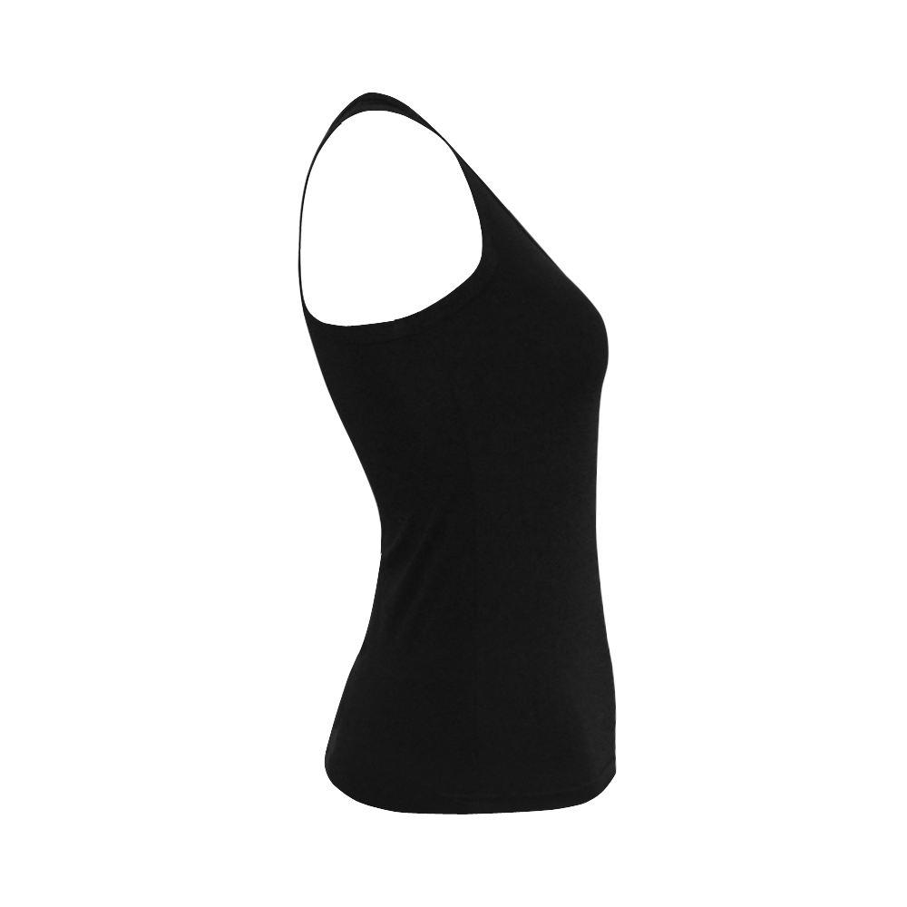 Glad To Be Blonde Women's Shoulder-Free Tank Top (Model T35)