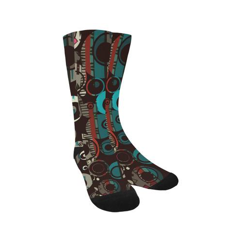 Circles texture Trouser Socks