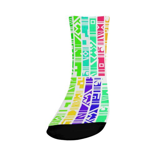 Colorful stripes Crew Socks