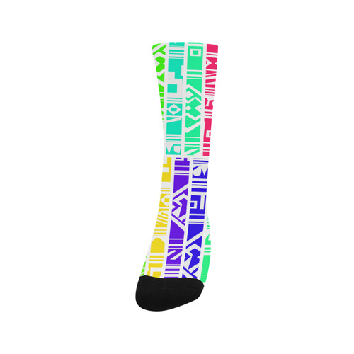 Colorful stripes Trouser Socks