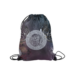 "Amazing skeleton Medium Drawstring Bag Model 1604 (Twin Sides) 13.8""(W) * 18.1""(H)"