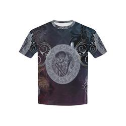 Amazing skeleton Kids' All Over Print T-shirt (USA Size) (Model T40)