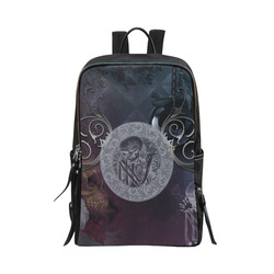 Amazing skeleton Unisex Slim Backpack (Model 1664)