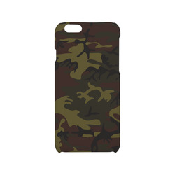 Camo Green Brown Hard Case for iPhone 6/6s