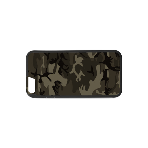 Camo Grey Rubber Case for iPhone 6/6s