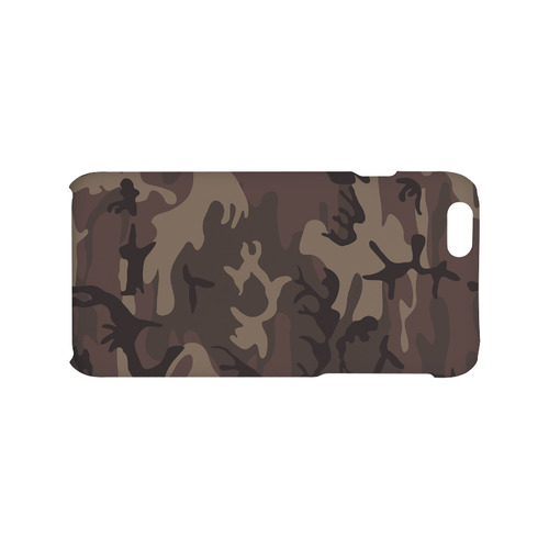 Camo Red Brown Hard Case for iPhone 6/6s