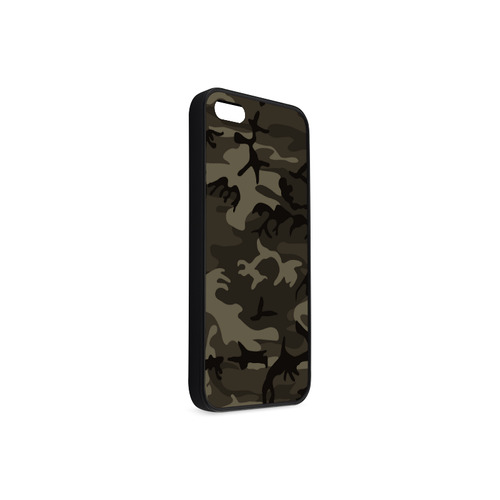 Camo Grey Rubber Case for iPhone 5/5s