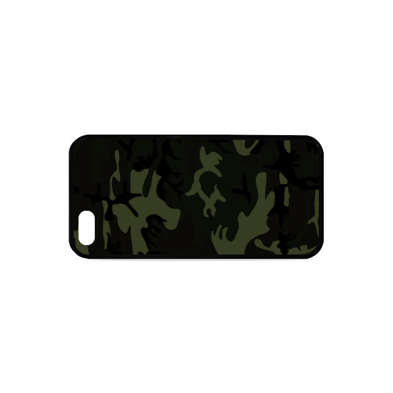 Camo Green Rubber Case for iPhone 5/5s