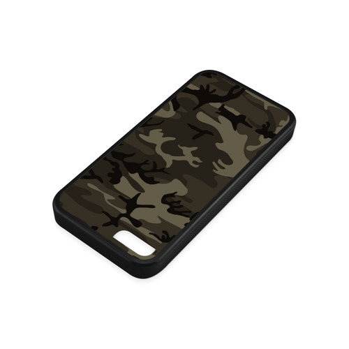 Camo Grey Rubber Case for iPhone 5c