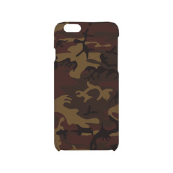 Camo Dark Brown Hard Case for iPhone 6/6s